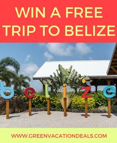 Planning a family trip to belize sweepstakes