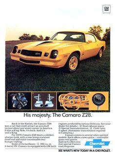'78 Chev Camaro Z28 - from productioncars,com via Mike 69