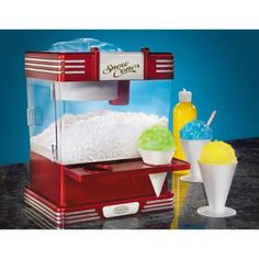 Retro Series Snow Cone Machine