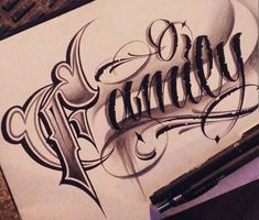 Chicano Lettering