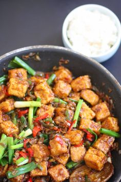 Black Pepper Tofu: When the tables are turned