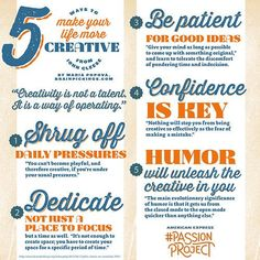 5 creativity tips.