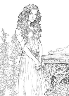 """Galadriel by NachoCastro.deviantart.com on @deviantART - From """"Lord of the Rings"""""""