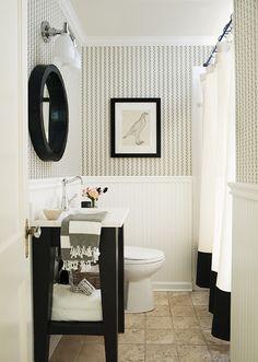Guest bathroom ideas Small Design Indulgence My Kitchen Dream Bathrooms Beautiful Bathrooms White Bathroom Bathroom Renos Pinterest 169 Best Small Guest Bathroom Images In 2019 Home Decor Toilet