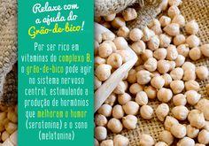 Clique na imagem e veja quais outros alimentos ajudam a relaxar!