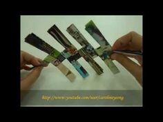 【CYS】纸编~废纸DIY置物篮の一:第一层 - YouTube