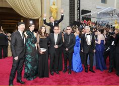 Benedict Cumberbatch executes amazing aerial Oscars photobomb on U2 - News - People - The Independent