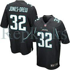 e3f41b85c1b Nike Jaguars Maurice Jones-Drew Black Alternate Mens NFL Game Jersey And  Emmanuel Sanders 10 jersey