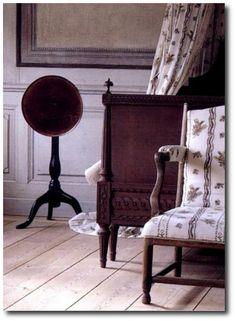Swedish Style, Swedish Textiles, Gustavian Furniture, Gustavian, Nordic Style, Country Swedish, Swedish Decorating, Swedish Fabrics