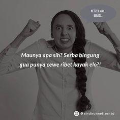 Sindiran Netizen Indonesia (@sindirannetizen.id) • Instagram photos and videos Photo And Video, Videos, Photos, Instagram, Pictures, Video Clip, Cake Smash Pictures