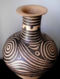 Ancient Chinese Neolithic Pottery in the Alberto Manuel Cheung Gallery in New York City