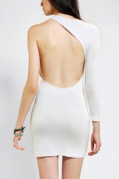 #UrbanOutfitters          #Women #Dresses           #one-sleeve #bodycon #double-layer #stretchy #rockin' #rayon #content #spandex #back #moon #exclusive #construction #neon #knit #open #usa #hand #long #care #soft #single #sleeve #dress                       Neon Moon Knit One-Sleeve Dress                     White-hot rockin' bodycon dress from Neon Moon in a soft, stretchy knit.? Topped with a single long sleeve and an arced, open back.? Double-layer construction.? UO Exclusive.   CONTENT…