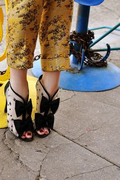 Chanel shoes: Jane Alderidge