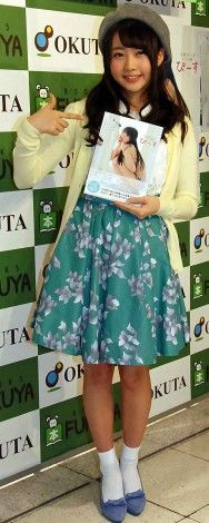 ファースト『ぴーす』発売イベントに出席したAKB48・木崎ゆりあ (C)ORICON NewS inc.  ▼11Feb2015オリコン 木崎ゆりあ、留学に興味津々 秋元氏にも相談も「卒業は考えてない」 http://www.oricon.co.jp/news/2048454/ #木﨑ゆりあ #木崎ゆりあ #Yuria_Kizaki #AKB48