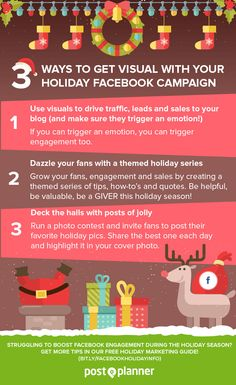 3 Ways to Get Visual With Your Holiday Facebook Campaign (plus 8 more tips!)
