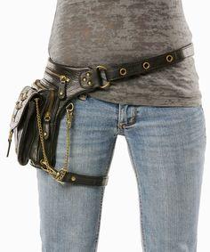 Warrior Pack Underground 8-Way Bag - Black | Warrior Creek - Unique Fashion Accessories