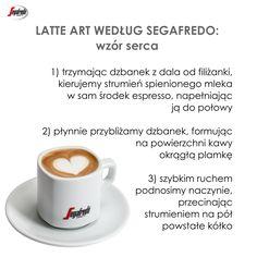 Ciekawym akcentem, który sprawi, że poranna kawa na długo zapadnie w pamięci ukochanej osoby, będzie samodzielnie wykonane latte art. Przedstawiamy krótki poradnik naszego baristy, w jaki sposób narysować wzór serca. #Segafredo #LatteArt #PoradyBaristy #Serce #Cappuccino #WłoskaKawa