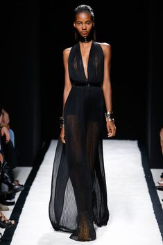 Balmain Spring 2015 Ready-to-Wear - Collection - Gallery - Look 2 - Style.com - sexy