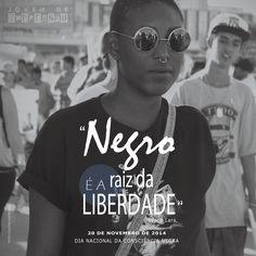 Campanha | Dia da Consciência Negra  Jovem de Expressão e R.U.A.S.