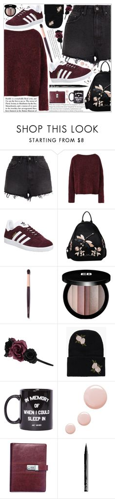 """style"" by lena-volodivchyk ❤ liked on Polyvore featuring Ksubi, 8, adidas, Edward Bess, Accessorize, Boohoo, Jac Vanek, Topshop and NYX"