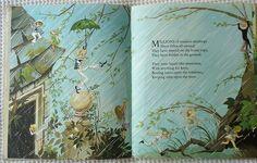 Millions of massive raindrops. ~ Illustrated by Janet & Anne Grahame Johnstone