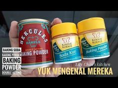 MENGENAL TIGA PENGEMBANG - YouTube Baking Soda Baking Powder, Coffee Cans, Make It Yourself, Canning, Facebook, Instagram, Food, Essen, Meals