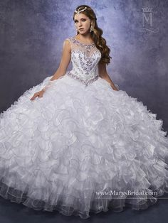 Mary's Bridal Princess Collection Quinceanera Dress Style 4Q481