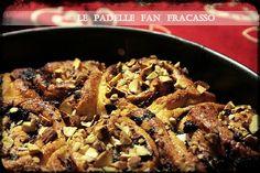 Torta di rose al cioccolato e scrucchiata. #ricetta di @sandramerizzi Beef, Italian Recipes, Food, Meat, Essen, Meals, Yemek, Eten, Steak