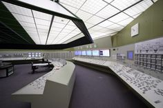 The understated coolness of power plant control room design. Who would not want to be a power plant control room designer? It is the second best option of being a space ship control room designer, which again is the second best option of being a space ship commander.