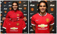 Equipacion FALCAO Manchester United primera 2014-2015