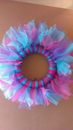 Tulle Wreath Ideas | Girls Tulle Wreath | Craft Ideas