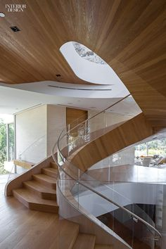 A Massive Los Angeles House by Hagy Belzberg and Delta Wright #design #interiordesign #interiordesign #projects #staircases @belzarch