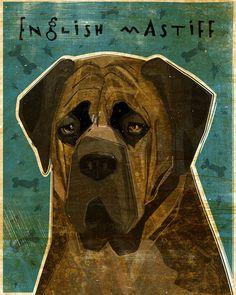 English Mastiff. If the hubs asks, I want this!