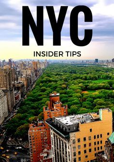 I ❤️ New York - If you are planning to go to this amazing city then have a look at this post with Insider Travel Tips. It has everything - From great little restaurants to must-see dance performances, and where to get the best city views whilst enjoying an alcoholic drink. Check it out... #NewYork #NYC #CityTrip