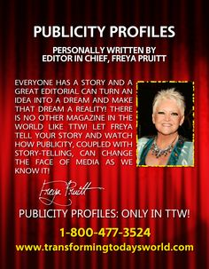 TRADEMARKED PUBLICITY PROFILES, TAKE OVER THE MEDIA!