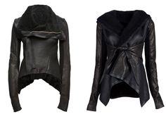 RICK OWENS leather jackket