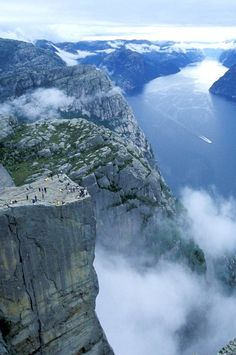 Preikestolen, Norway ….Stay cheap and comfortable on your stopover in Oslo: www.airbnb.com/rooms/1036219?guests=2&s=ja99 and https://www.airbnb.no/rooms/10188728