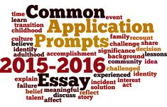 The Common Application Just Announced Essay Prompts For 2015 2016 College