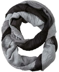 Athleta Ombre Textured Infinity Scarf by Echo Design Group on shopstyle.com