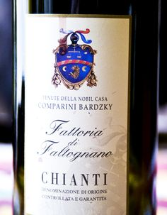 The 2009 Fattoria di Faltognano Chianti: a simple, rustic farmhouse wine from the hometown of Leonardo da Vinci. Easy to drink, decent value. Rustic Farmhouse, Vodka Bottle, Wine, Drinks, Simple, Easy, Drinking, Beverages, Drink