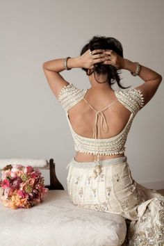 Bollywood Wedding Inspiration - A lovely wedding outfit