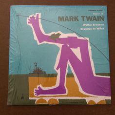 Stories of Mark Twain Vinyl Record LP Spoken Word 1956 Caedmon Huckleberry Finn Jumping Frog of Calaveras County by vintagebaron on…