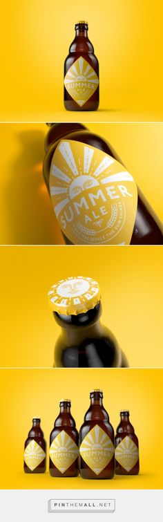 Limited Edition Summer Ale - Packaging of the World - Creative Package Design Gallery - http://www.packagingoftheworld.com/2016/08/limited-edition-summer-ale.html