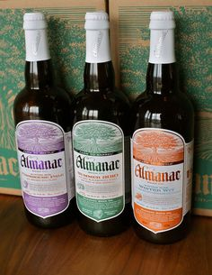 Almanac Beer Co Package Design Inspiration