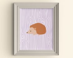 A Perfect Little Gift! Cute Hedgehog Socks with Ribbon and Gift Tag