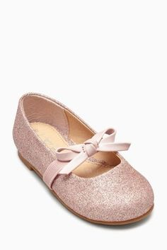 Buy Glitter Bow Mary Janes (Younger Girls) online today at Next: United States of America