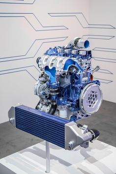 2.3l DOHC D.I. turbocharged 4 cylinder EcoBoost for 2016 Ford Focus RS.