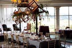 Corporate Events | Bloomsters Flower Decorations, Table Decorations, Event Decor, Event Ideas, Ceiling Installation, Ceiling Decor, Home Look, Corporate Events, Table Settings