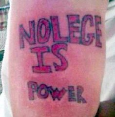 Perhaps Not… Bizarre Tattoos That Are Nothing But Complete Failures • BoredBug