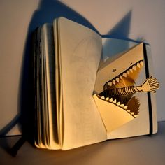 Oh, I have such a wicked sense of humour - this is a treat! #sharks #paperarts